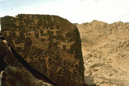 中国壁画1 史前岩画